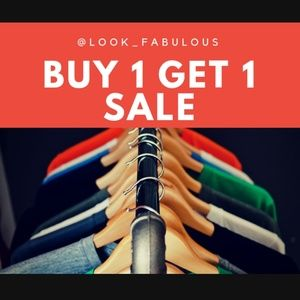 Whole Closet! Buy 1 Get 1 Free SALE! Starting 7/18